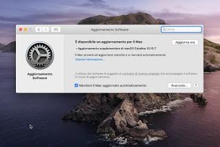 Actualización de Mac