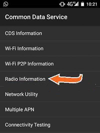 servicio de datos generales