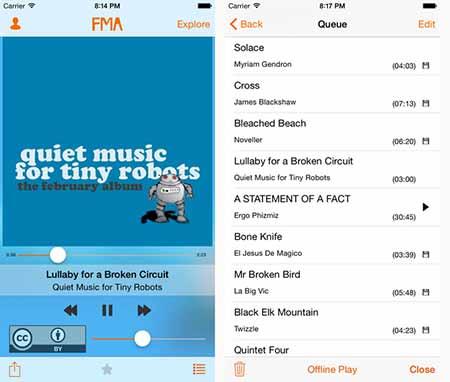 Descarga música gratis para iPhone 1