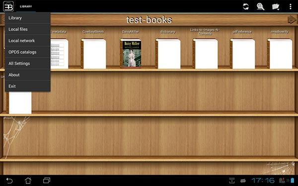 droide de libro electrónico