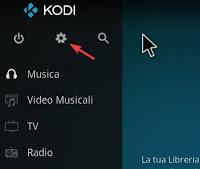 Configuración de Kodi