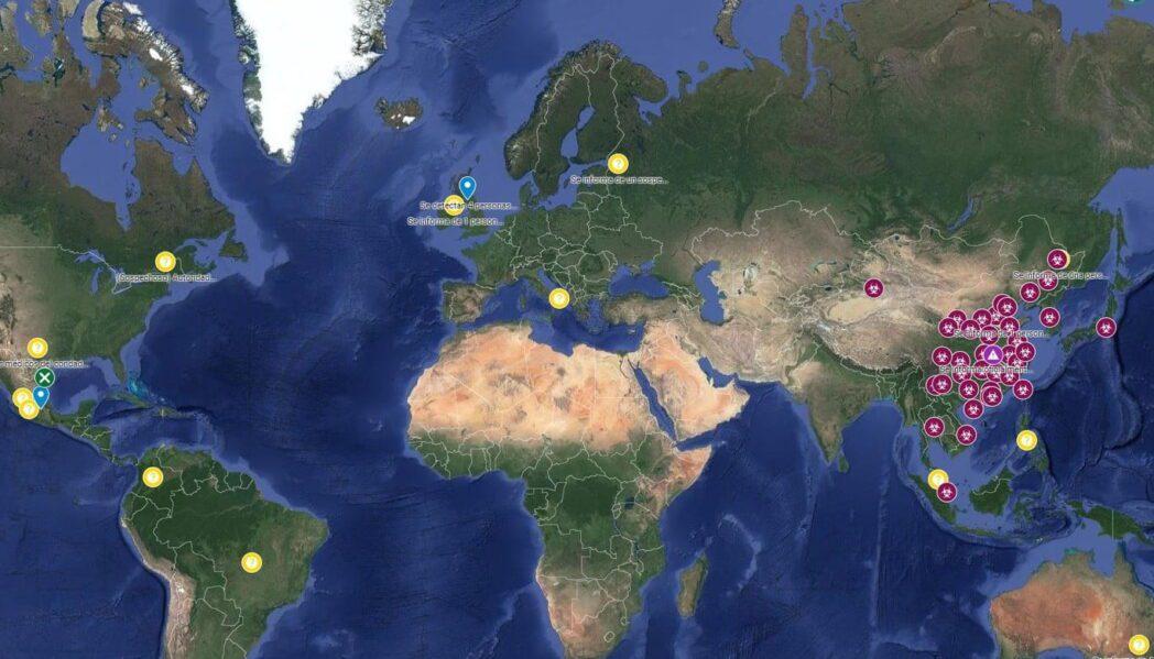 20 mapas en tiempo real que muestran como le va al mundo