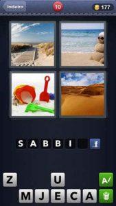 4 fotos solución de 1 palabra