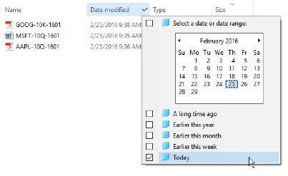 Cambiar la fecha de creación del archivo
