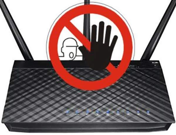 bloquear su dispositivo de Wi-Fi
