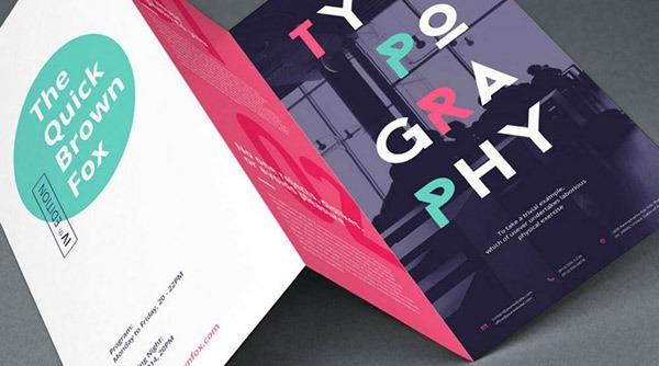 crear folletos y carteles en línea