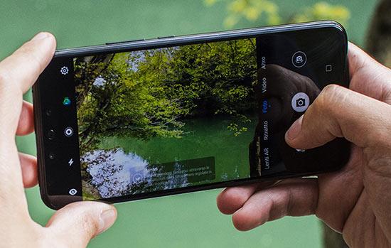 cámara en teléfonos Huawei
