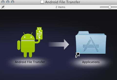 transferir archivos desde Mac al dispositivo Android 1