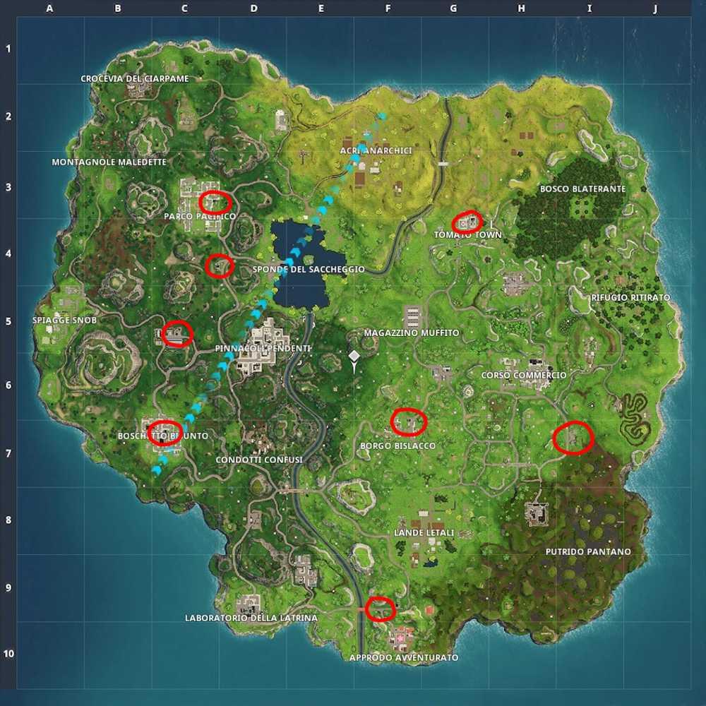 Fortnite: dónde encontrar repostaje (mapa) |  Guía