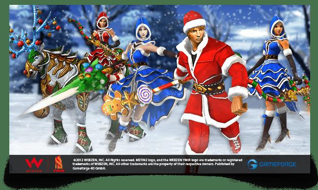 Metin2: un evento navideño donde puedes dejar caer los cofres de Luce di Luna