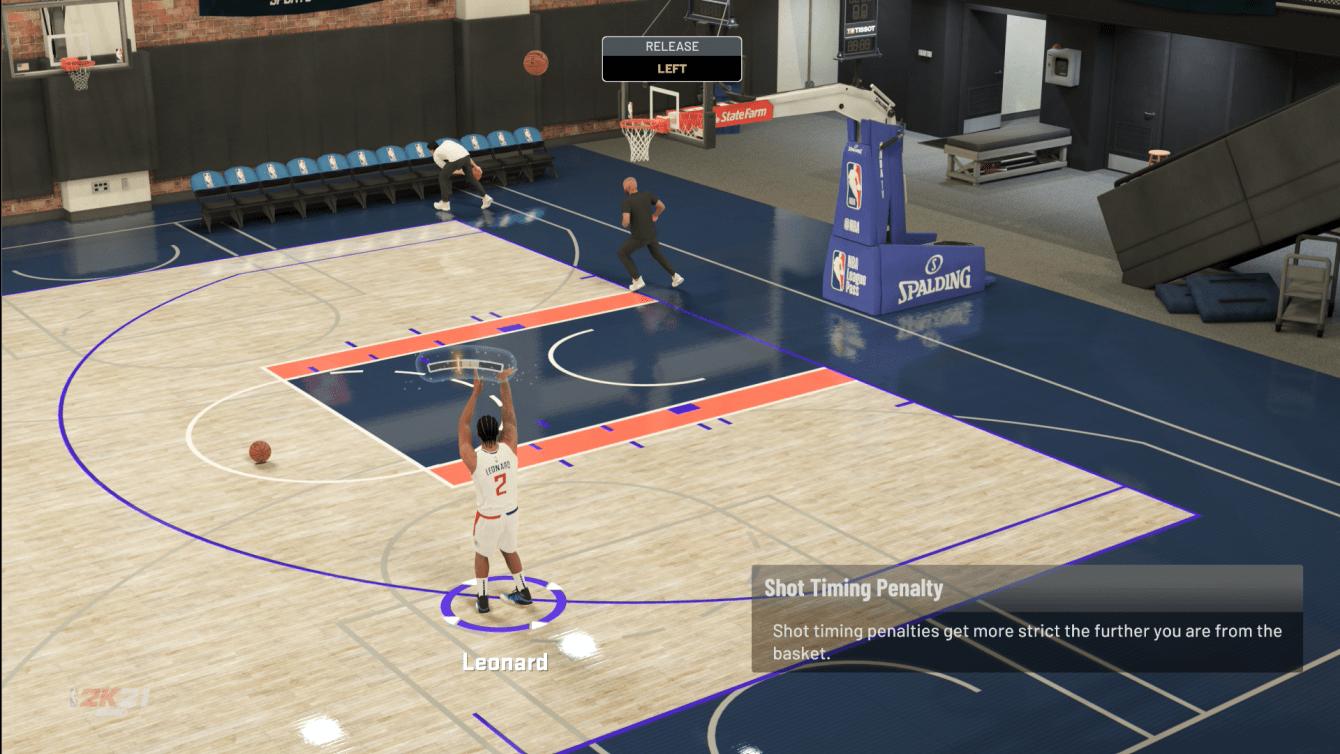 NBA 2K21: cómo cambiar el indicador de tiro