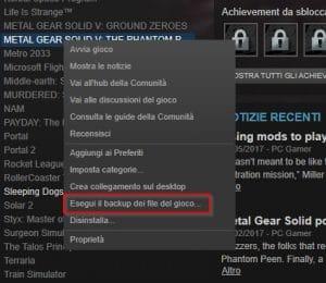 Cómo crear y restaurar copias de seguridad en Steam