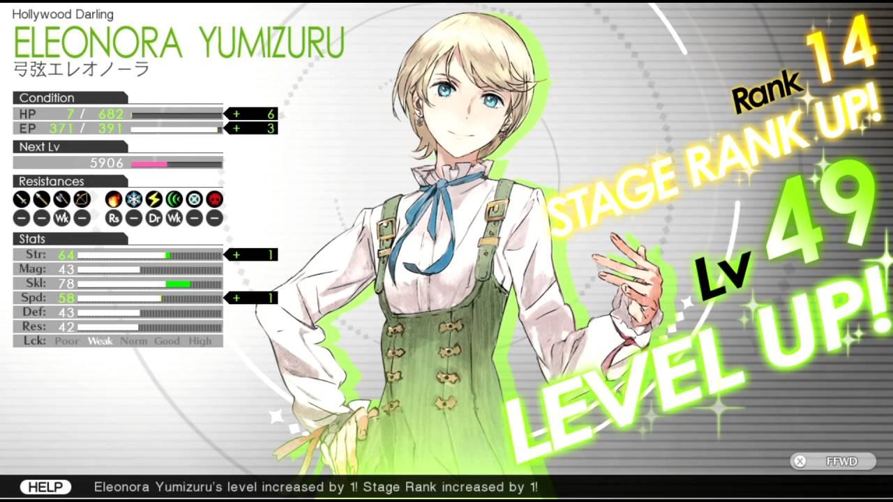Sesiones de Mirage en Tokio ♯FE Encore: cómo subir de rango en el escenario