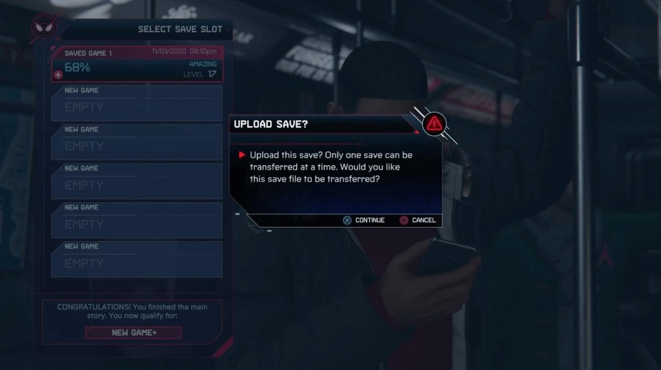 Spider-Man: Miles Morales, una guía para la transferencia de datos de PS4 a PS5