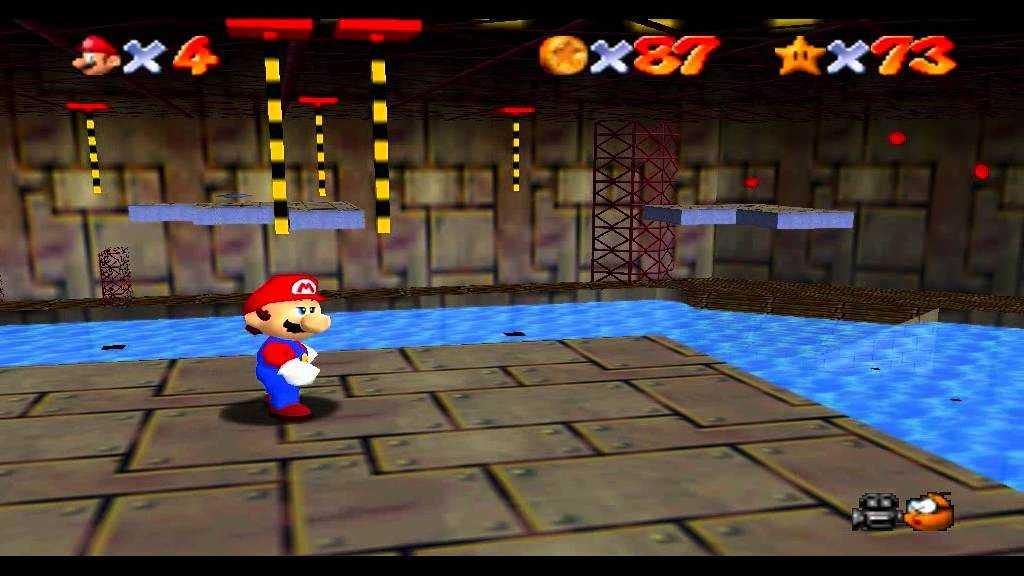 Super Mario 64: Dónde encontrar todas las estrellas en el Abismo de Agua