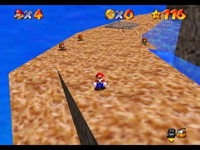 Super Mario 64: dónde encontrar todas las estrellas de Monte Gigante