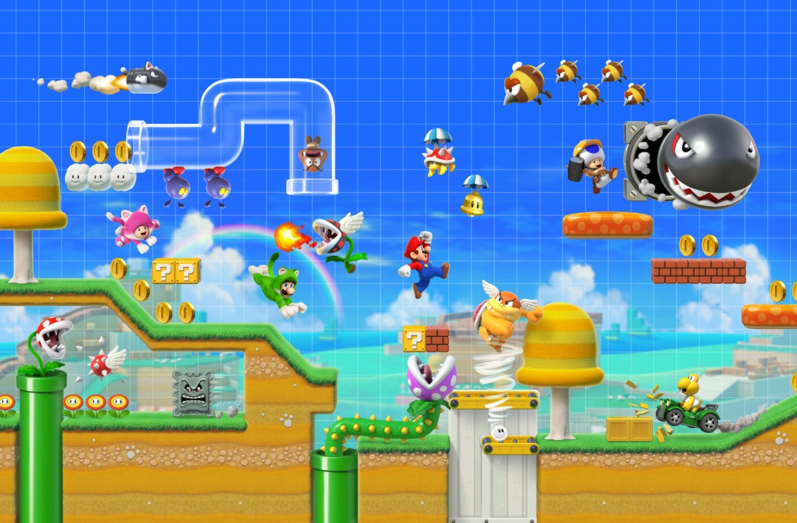 Super Mario Maker 2: cómo jugar juntos, en línea o localmente