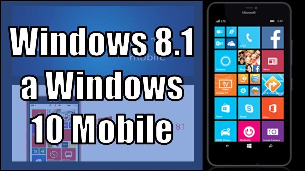 actualice su lumia a windows 10 desde windows phone 8 1