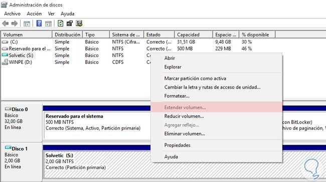 administracion de discos de windows como acceder y usarlo