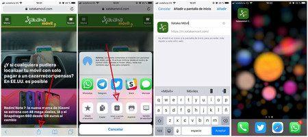 agregue sitios web a su pantalla de inicio en android iphone y windows