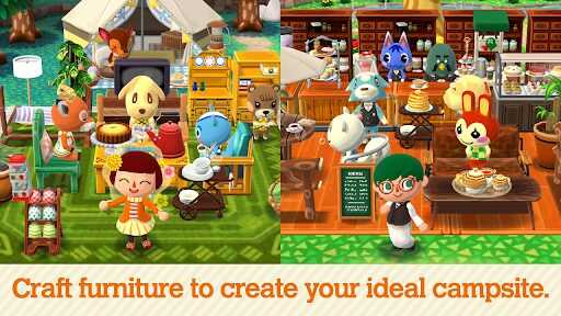 animal crossing camping simulator nintendo gratis para android y iphone