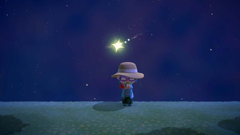 animal crossing new horizons guide to shooting stars y magic wand
