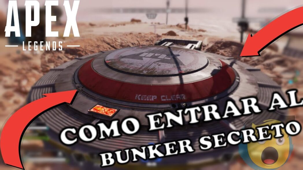 apex legends como entrar en un bunker secreto