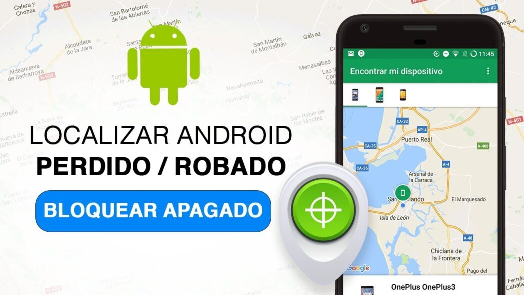 aplicacion para encontrar un telefono movil robado o perdido
