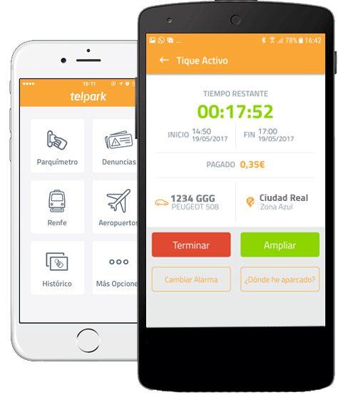 aplicacion para pagar estacionamiento lineas azules y boletos desde tu telefono