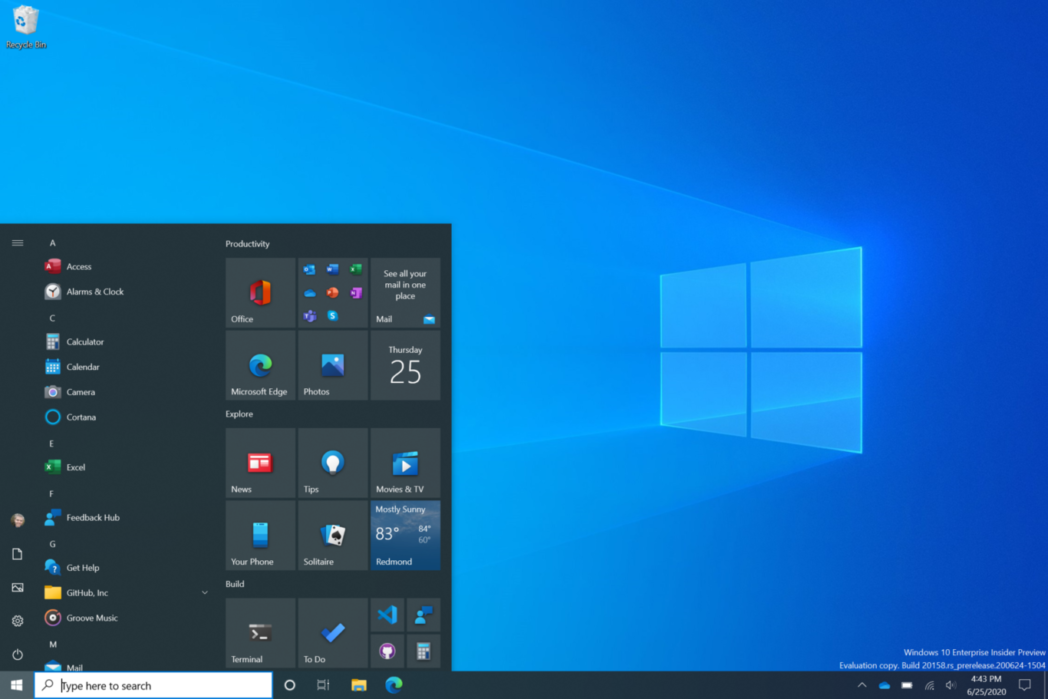 aplicaciones de windows 10 y 8 1 que deben permanecer abiertas al costado de la pantalla