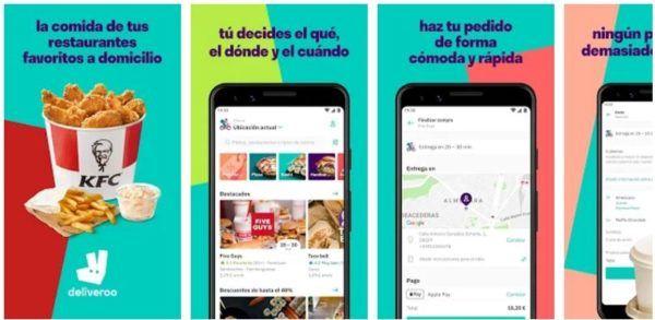 aplicaciones y sitios web para pedir comida desde casa