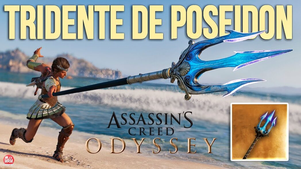 assassins creed odyssey como encontrar el tridente de poseidon