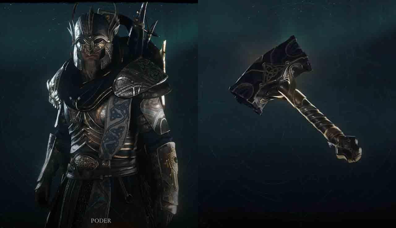 assassins creed valhalla como obtener la armadura y el martillo de thor
