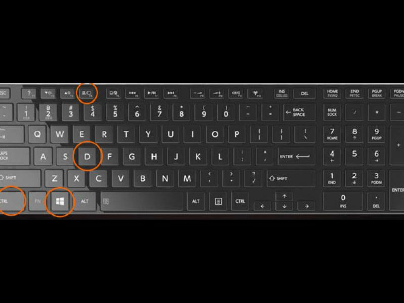 atajos de teclado nuevos e importantes en windows 10