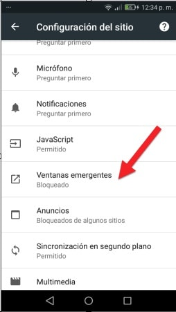 bloquear ventanas emergentes y notificaciones publicitarias en android