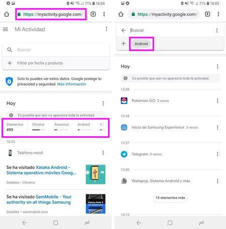 borrar el historial de google las busquedas y los sitios abiertos