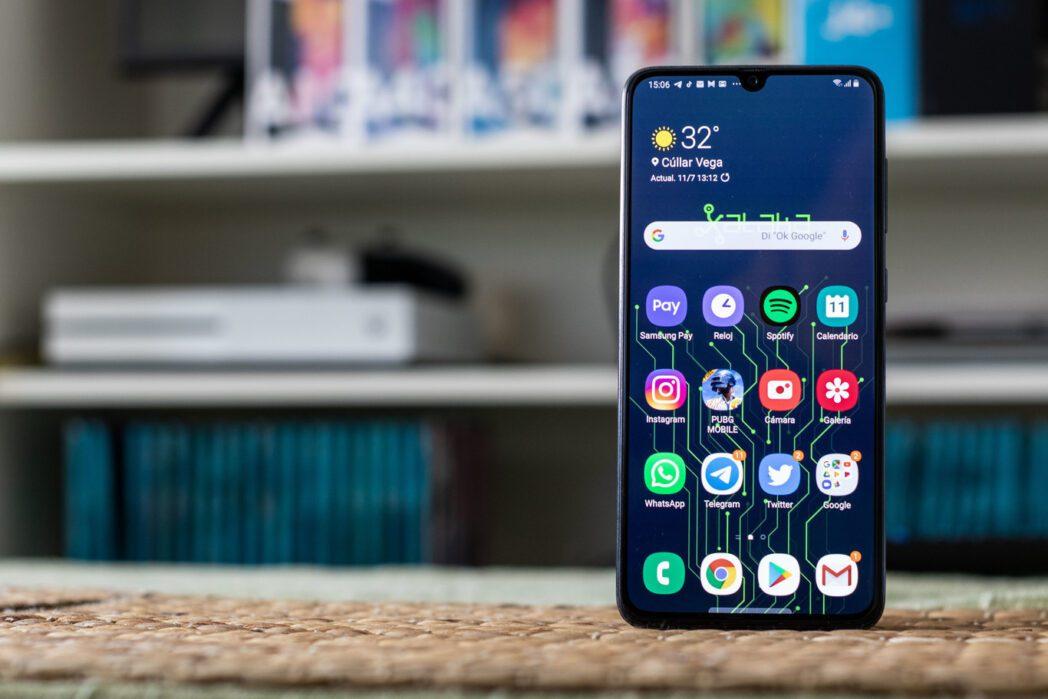 busca en tu telefono y aplicaciones de android