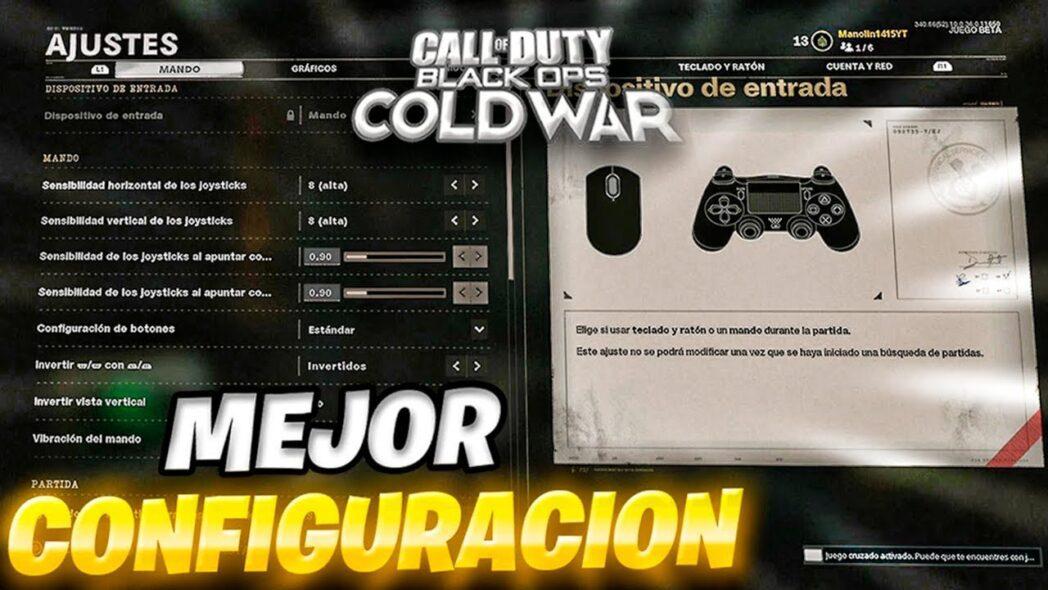 call of duty cold war black ops la mejor configuracion