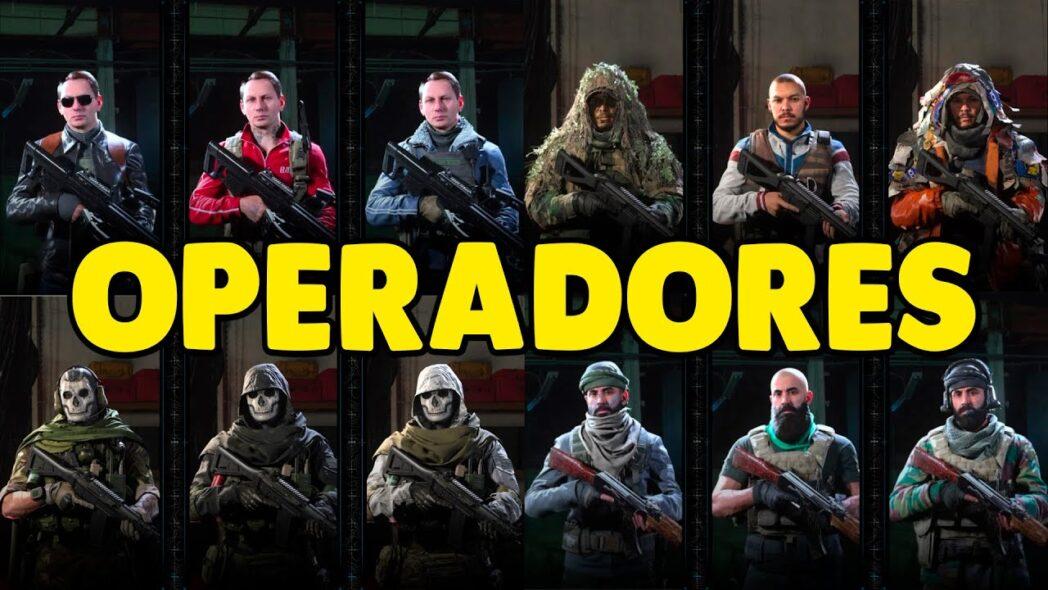 call of duty warzone como desbloquear todos los operadores