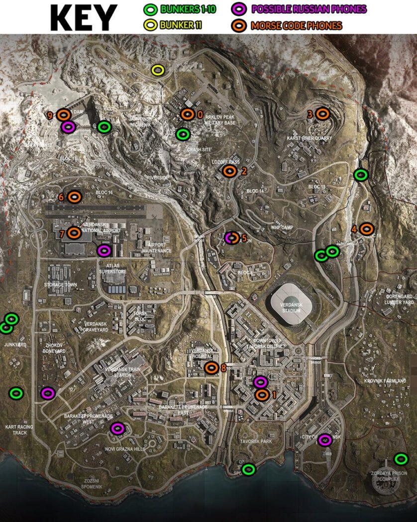 call of duty warzone como encontrar y abrir bunkers