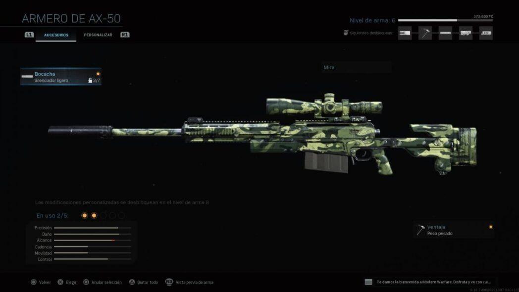 call of duty warzone el mejor francotirador y rifles tacticos