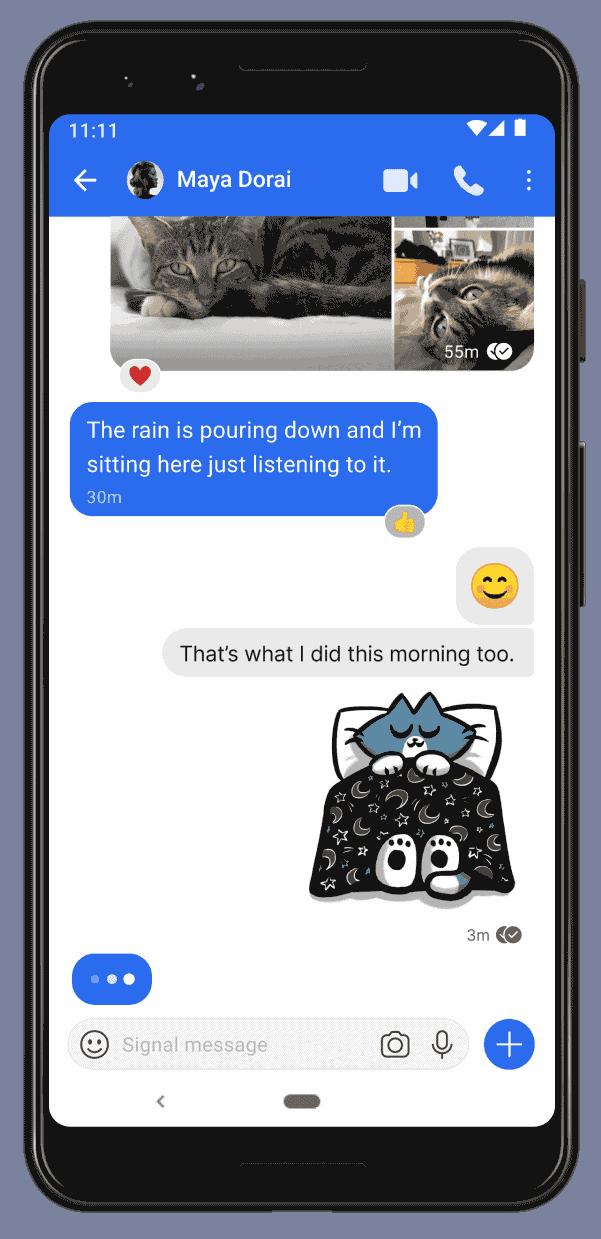chats secretos y sin seguimiento con signal en android iphone y la web