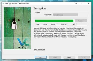 cifre la unidad de su pc e inicie windows con veracrypt