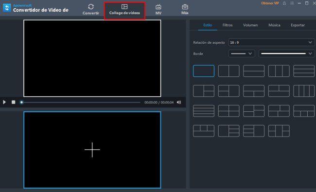 combinar dos videos en una pantalla dividida