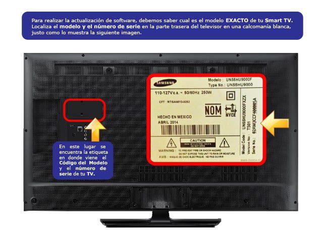 como actualizar el firmware de samsung tv