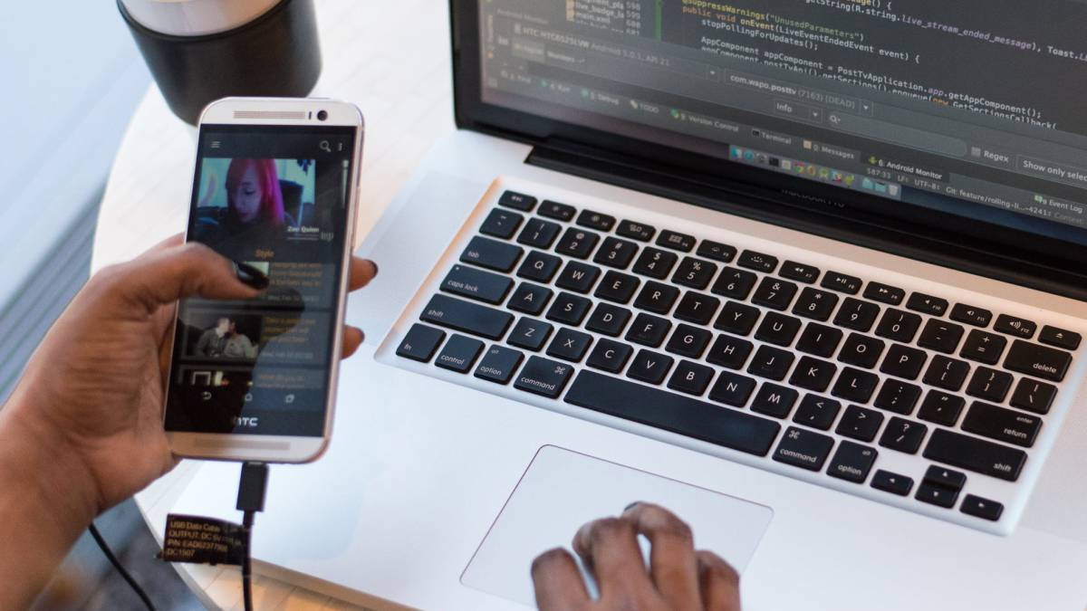 como conectar un telefono inteligente a una mac
