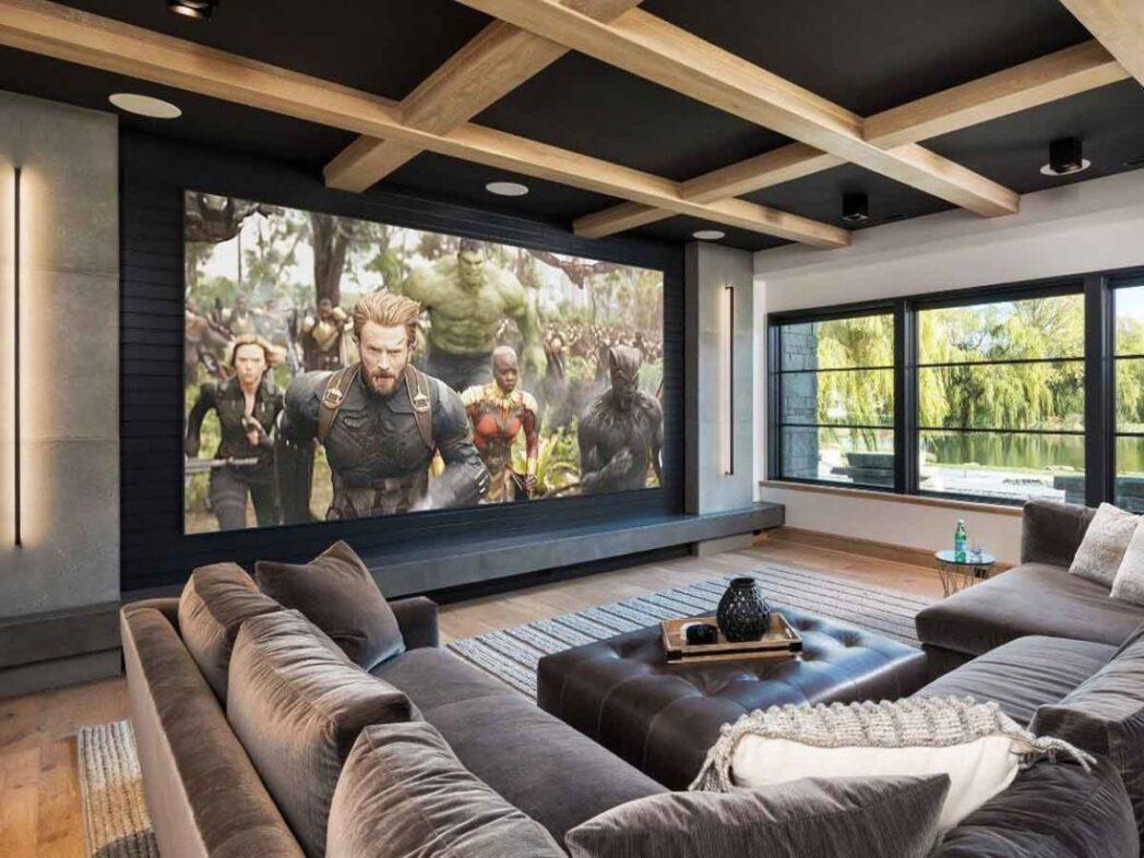 como crear un sistema de tv de cine en casa