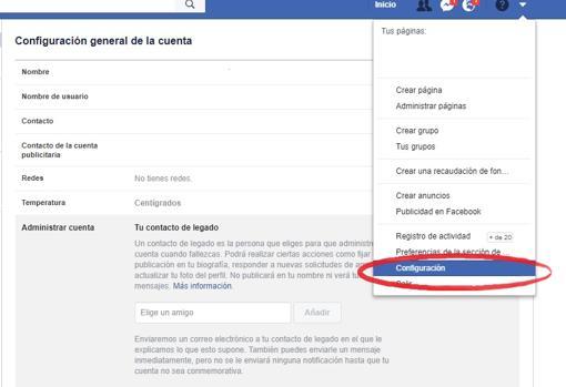 como darse de baja de facebook y eliminar su perfil