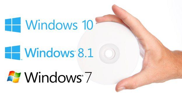 como descargar todas las versiones de windows 10 windows 7 y 8 1