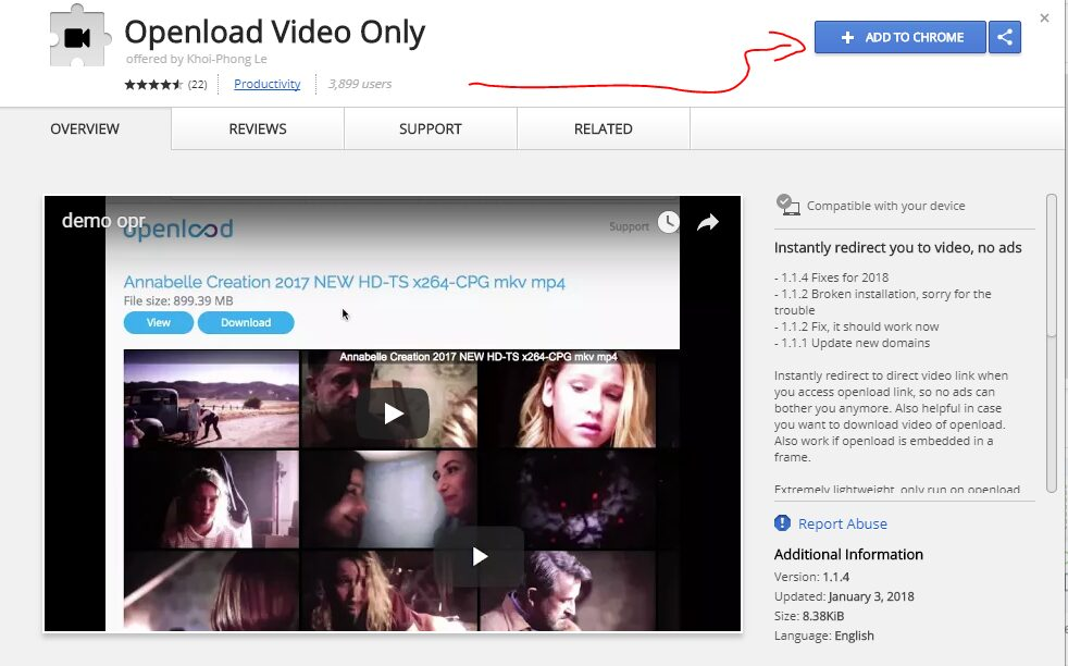 como descargar videos de openload febrero 2021